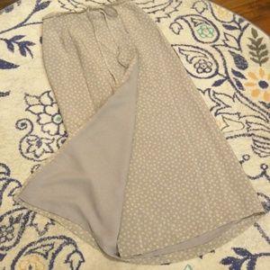 J. Crew floral wrap dress lined size 8